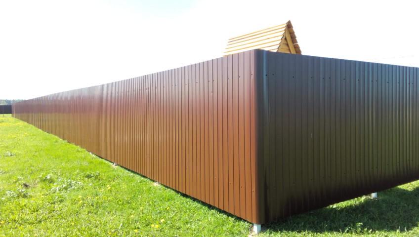 Качественный забор для своей дачи