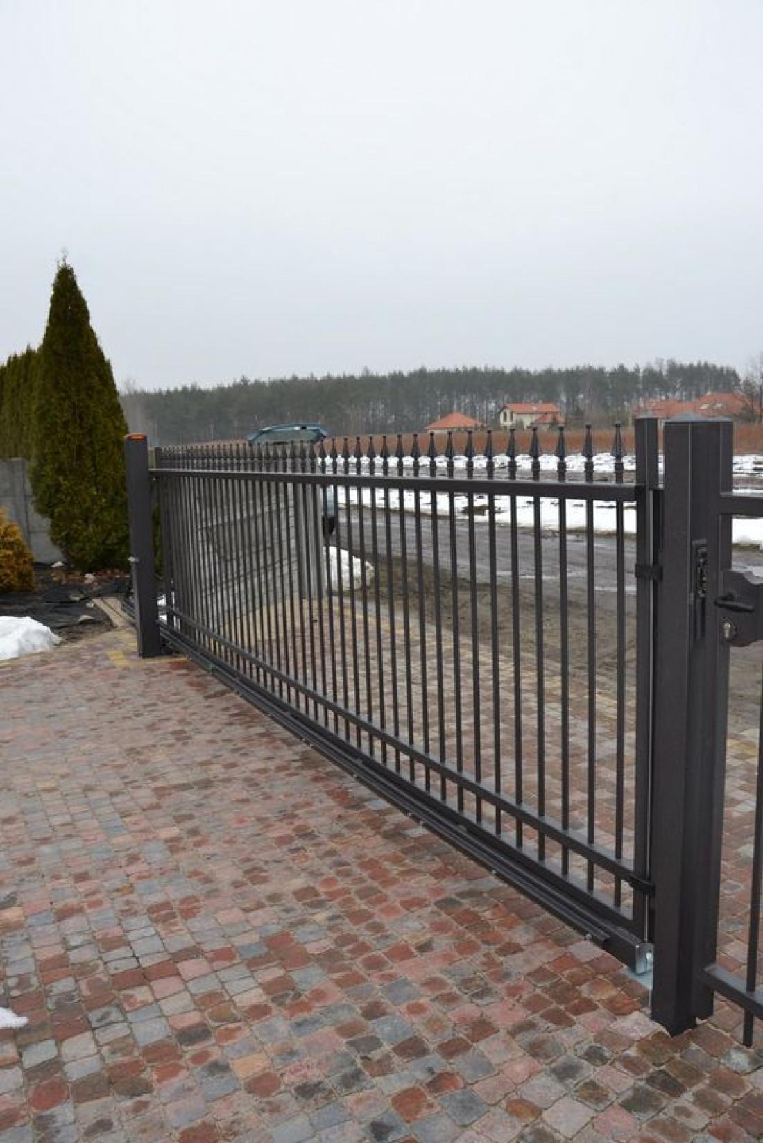 Въездные ворота нестандартной длины