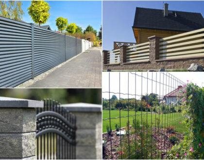 Забор пятью способами